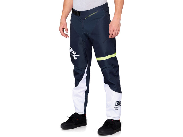 100% R-Core DH Pants Herre dark blue/yellow
